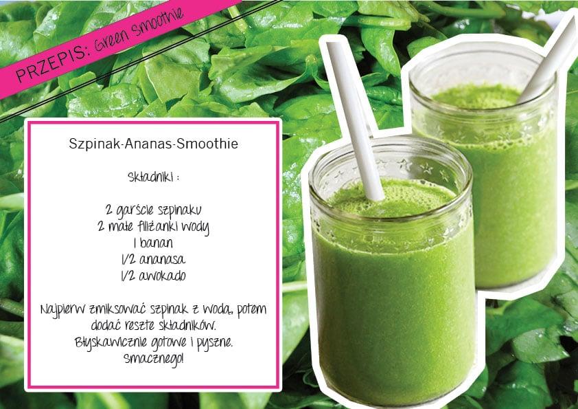 Zielony smoothie – drink gwiazd