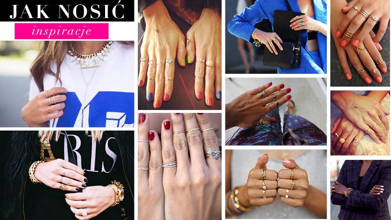 Jak nosić dużo pierścionków?