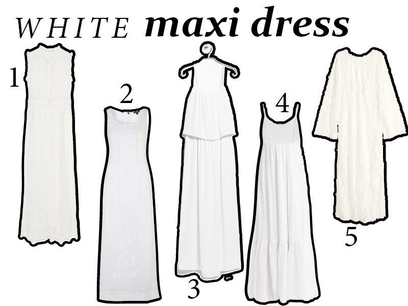Kup teraz – długie białe sukienki!