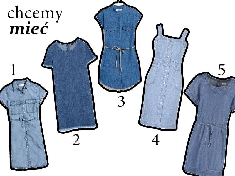 Hit – dżinsowe sukienki