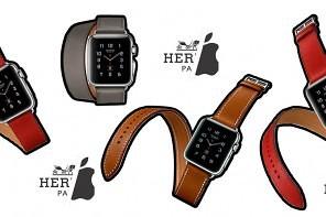 zegarek apple watch hermes