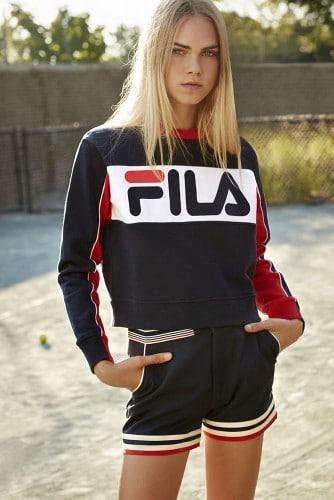 Zdjęcie z kampanii Fila dla Urban Outfitters 1