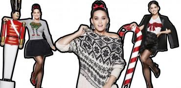 Katy Perry w świątecznej reklamie H&M