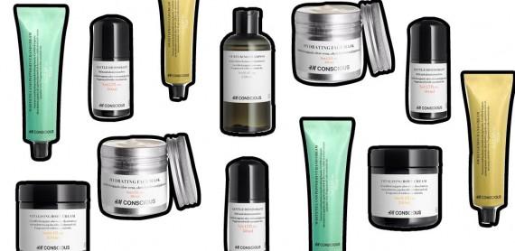ekologiczne kosmetyki H&M Beauty Concious Collection