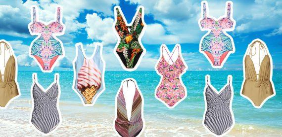 Modne stroje kąpielowe na lato 2016