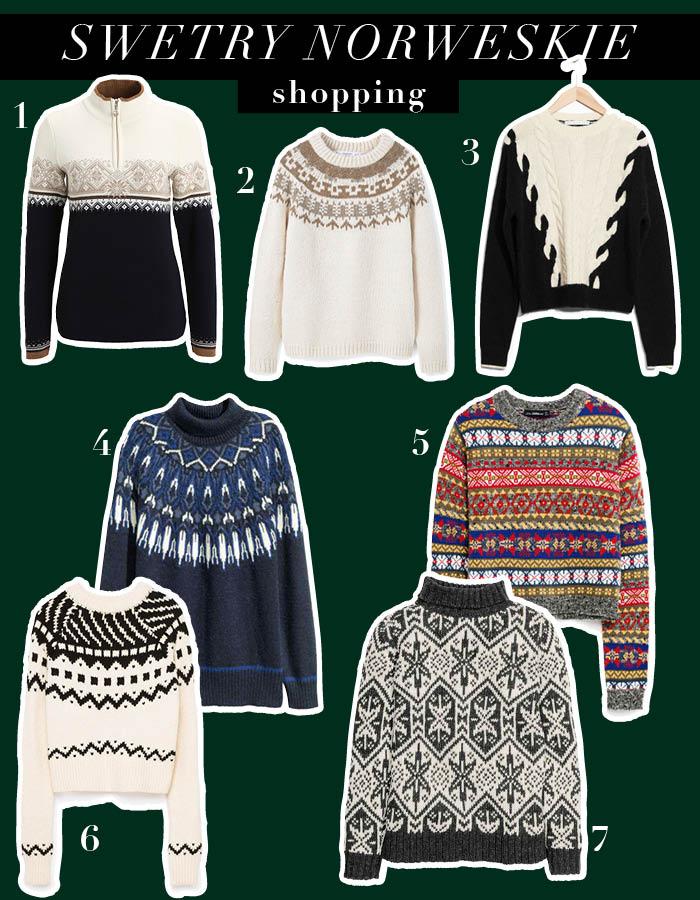 Swetry norweskie – trend na teraz