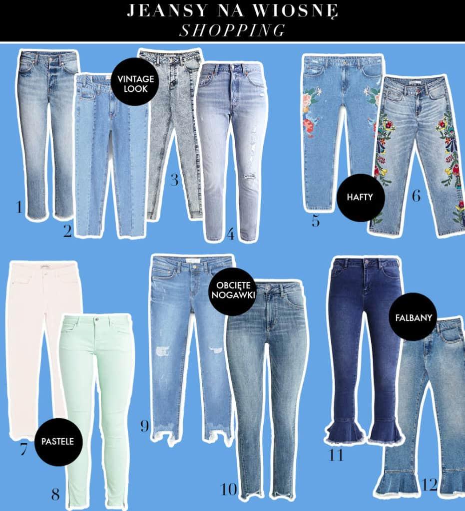 Dżinsy na wiosnę - wybór redakcji Temat Moda