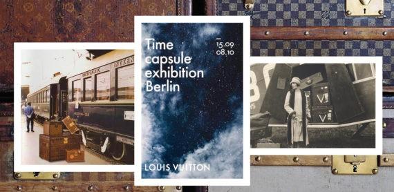 Louis Vuitton wystawa Berlin time capsule