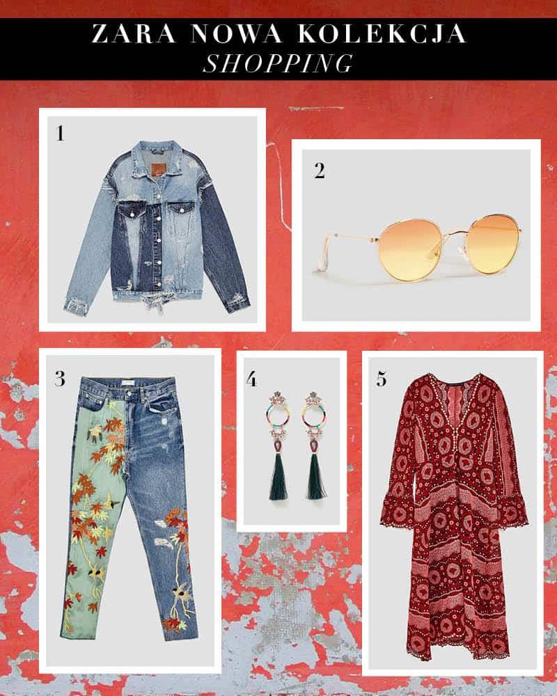 5 rzeczy z nowej kolekcji Zara na teraz