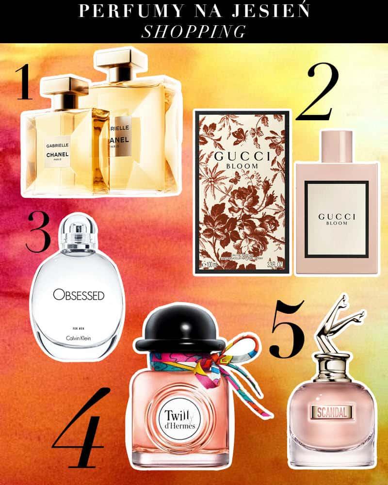 perfumy jesien nowosci