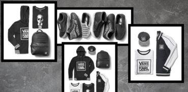 Vans X Karl Lagerfeld kolekcja wrzesien 2017