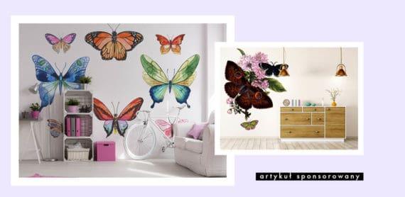 Dekoracyjne naklejki z motylami