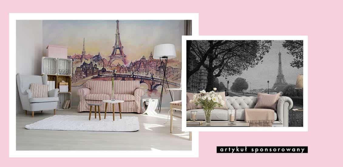 fototapeta z Paryżem, która odmieni Twoje wnętrze
