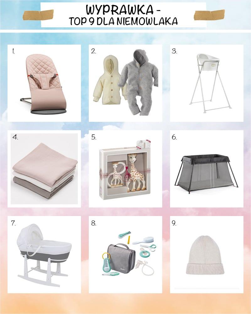 wyprawka dla niemowlaka najlepsze gadżety top 9 shopping